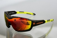 Очки для кайта Kiteflash SupFlash Maui Galaxy Black Amalgam lenses red